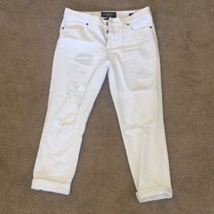 White lucky brand jeans